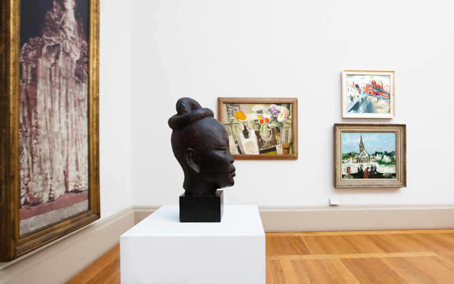Picture of a museum art display