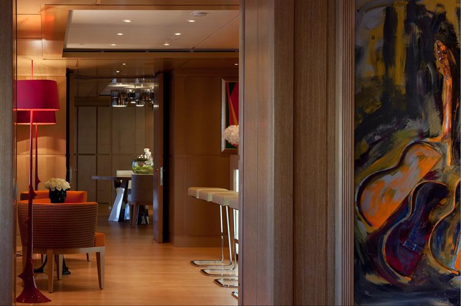 Sophisticated interior design